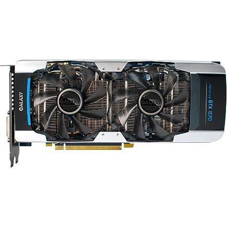 GALAXY社製 NVIDIA GeForce GTX670搭載 ビデオカード(オーバ-クロックモデル) GF PGTX670-OC/2GD5 DUAL FAN