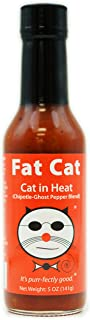 Fat Cat - Cat in Heat: Chipotle-Ghost Pepper Blend Hot Sauce sold by Fat Cat Gourmet Foods