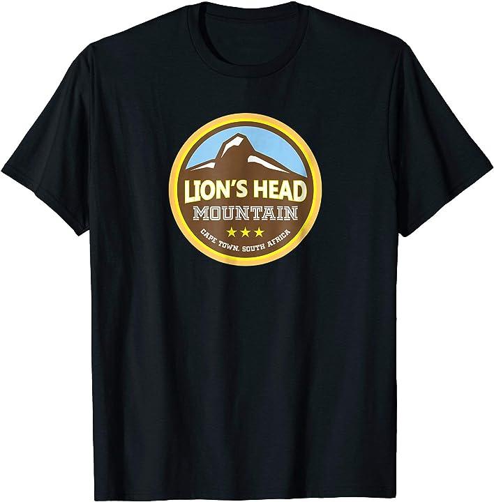 Lion's Head, Cape Town South Africa Shirt