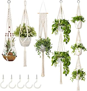 simple macrame plant holder