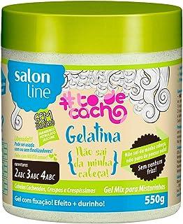 Gel Uso Diário 550G to de Cacho não Sai da Cabeça Unit, Salon Line