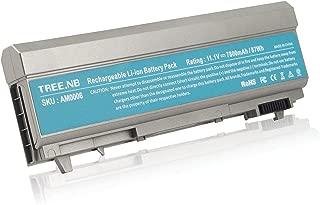 Tree.NB Battery for Dell Latitude E6400 E6410 E6500 E6510 Precision M2400 M4400 M4500,Fits P/N:PT434 KY265 KY265,7800mAh /11.1V /9 Cells High Performance Replacement Laptop Battery