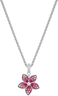 SWAROVSKI Women's Tropical Flower Pink Crystal Jewelry Collection