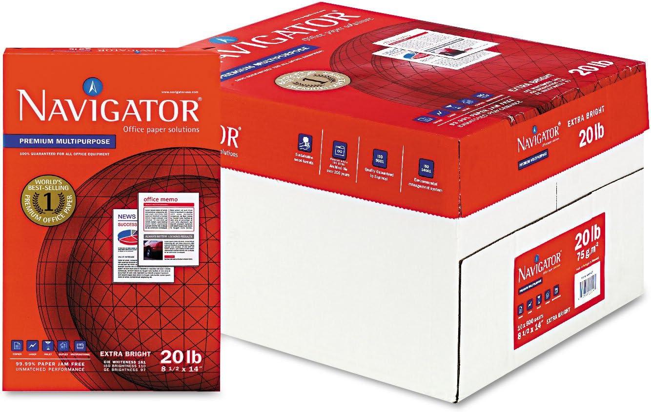 Soporcel Navigator NMP1420 Large-scale sale Premium Max 83% OFF Multipurpose 97 Paper Bright