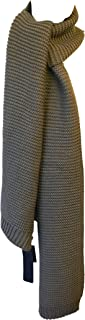Antony Morato Bufanda unisex grande suave y cómoda para el cuello, elegante, formal, larga, rectangular, con flecos