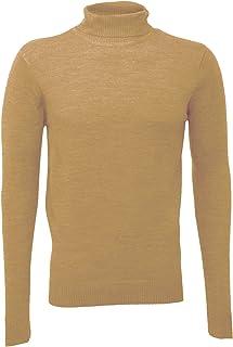 vendita calda online 55bfd 7a3fb Amazon.it: Pullover cammello - Maglioni, Cardigan & Felpe ...