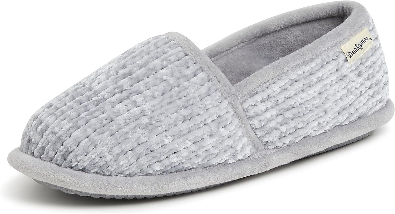 Dearfoams Women's Chenille A-line Slipper