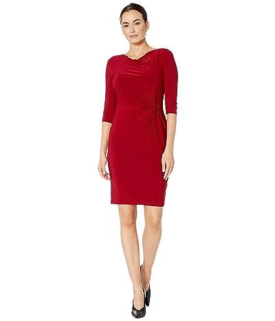 LAUREN Ralph Lauren Trava Dress (Vibrant Garnet) Women