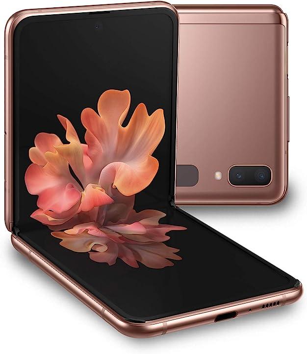 """Smartphone samsung galaxy z flip 5g display ext. 1.1"""" super amoled/int. 6.7"""" dynamic amoled 256gb ram 8gb SM-F707BZNAITV"""