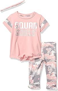 pink shirt and camo pants