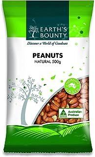 Earth's Bounty Natural Peanuts, 500 g