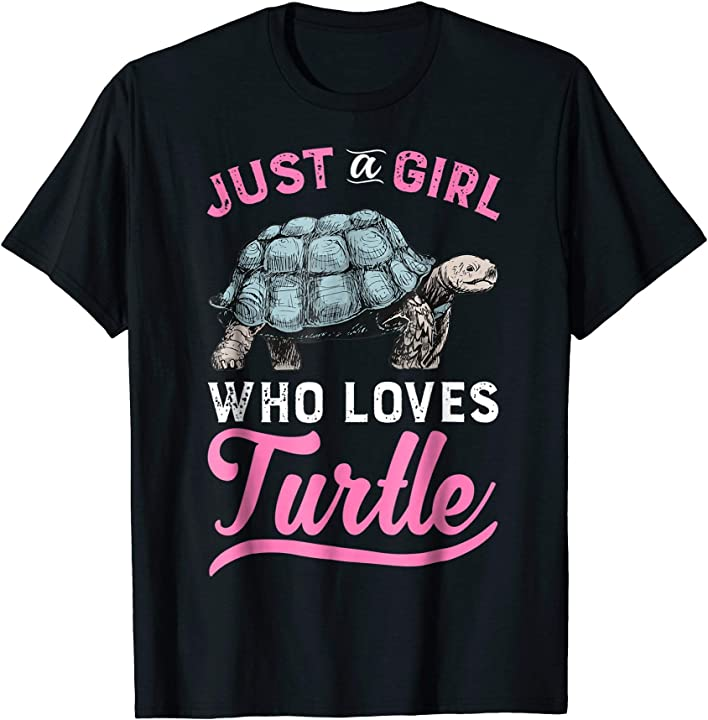 Funny Turtle T-Shirt - I Just Really Like Turtle Gift Tee
