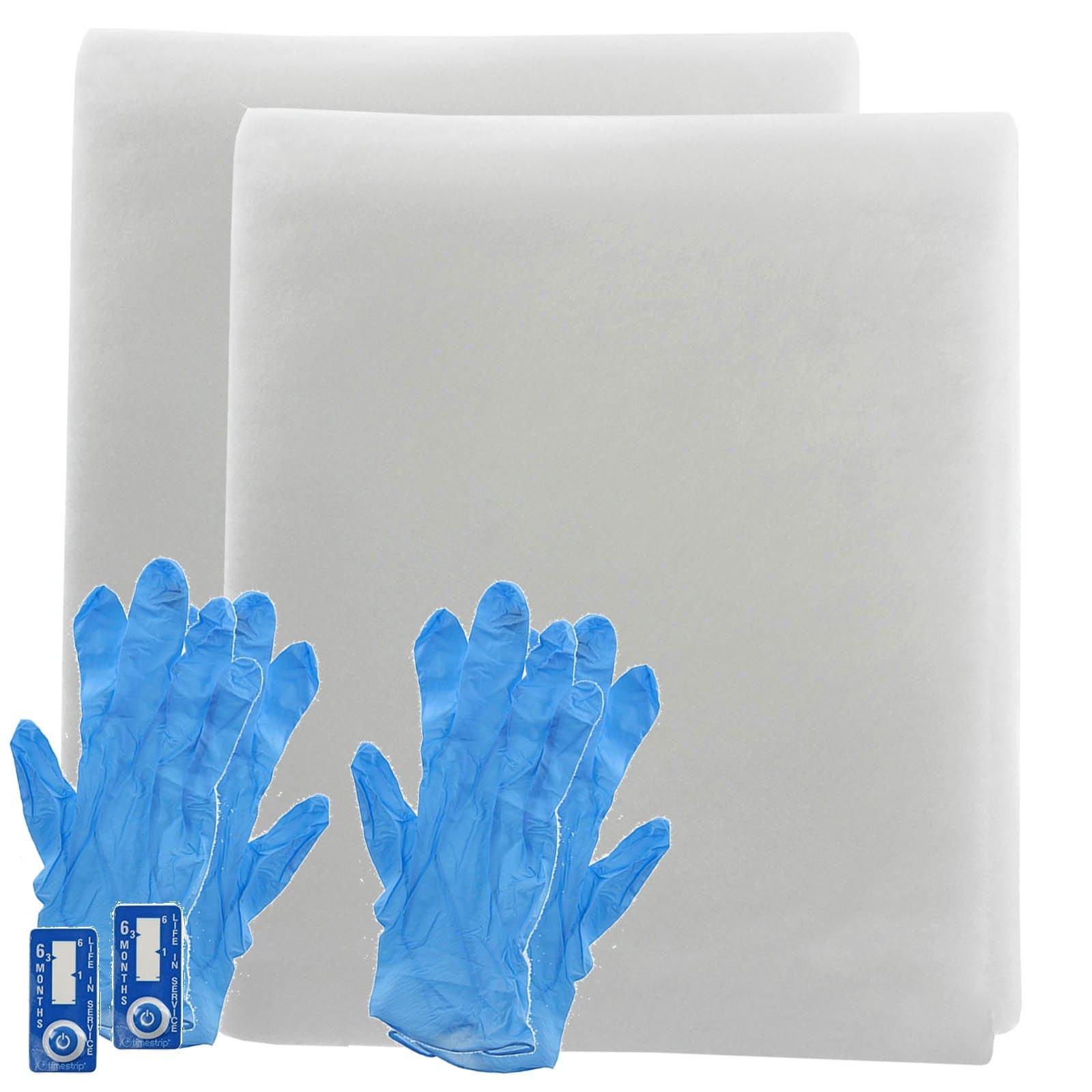 Spares2go campana Kit de filtro de grasa para extractor de cocina Soberano rejilla de ventilación (corte a tamaño): Amazon.es: Hogar