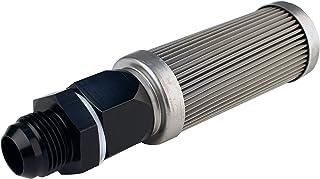 Aeromotive 12613 Fuel Filter, Bulkhead, AN-12, 100 Micron Stainless Steel