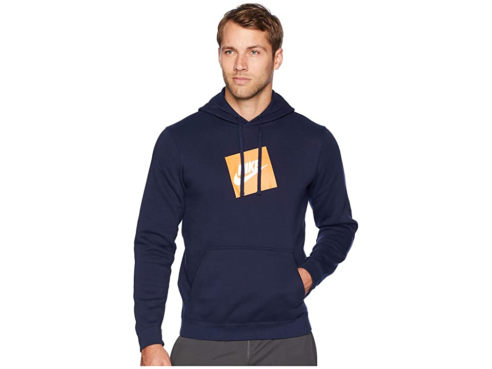 Nike NSW Hybrid Hoodie Pullover Fleece (Obsidian) Men