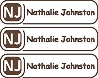 All-purpose, Custom Name Labels, Name And Initials, Multiple Colors And Sizes, Waterproof, Microwave And Dishwasher Safe, Washer And Dryer Safe, Custom Name Label For Daycare, Custom Name Labels
