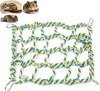 Alfie Pet - Samar Hanging Net for Mouse, Chinchilla, Rat, Gerbil and Dwarf Hamster - Color: Green