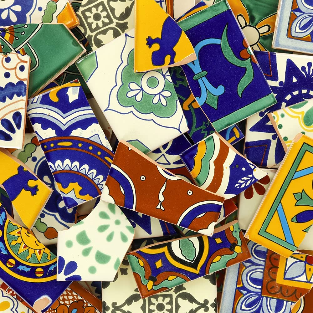 Decorating With Mismatched Tiles