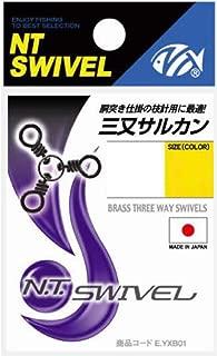 NTスイベル(N.T.SWIVEL) 三又サルカン クロ #5