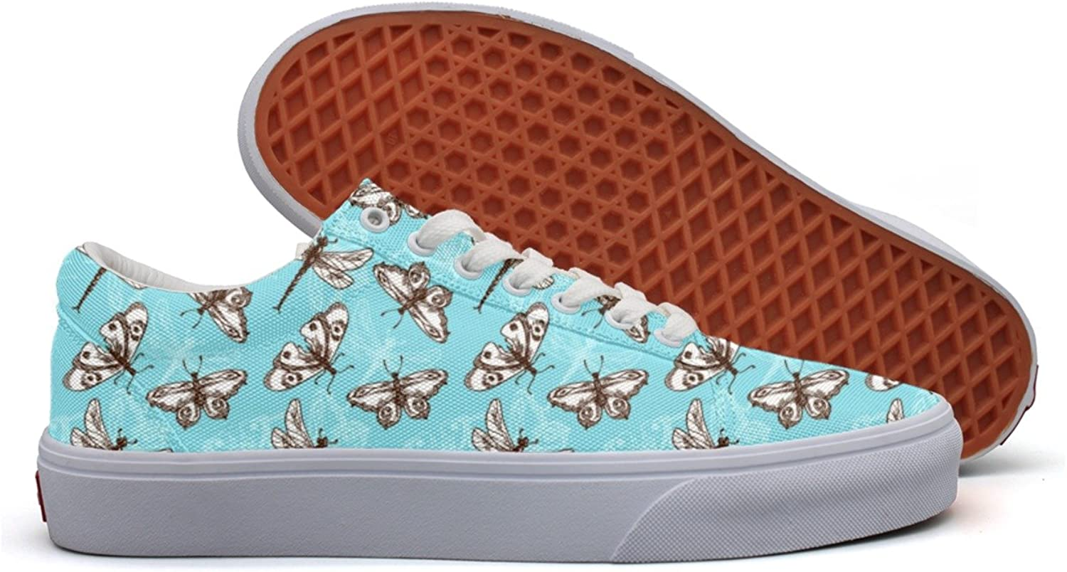 Butterflies And Dragonflies Insects Women's Casual shoes Slip-On Sports Nursing Designer