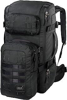 Jack Wolfskin Trt 65 Pack Jerk Sack de Voyage, Cómoda mochila de viaje. Unisex Adulto, Negro, Talla única