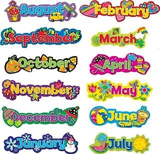 Creative Teaching Press Popping Patterns, Seasonal Months of The Year (6913)