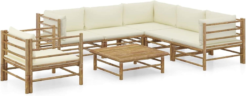 KA Company Arlington Mall Japan Maker New Outdoor Furniture Set Garden 7 wit Piece Lounge