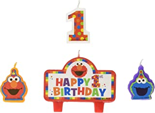 Amscan 171835 Birthday Candles, One Size, Multi