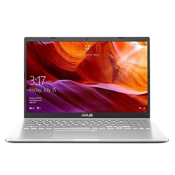 ASUS VivoBook AMD Quad Core Ryzen 5-3500U(4GB RAM/256GB SSD/Win10+Ms Off H&S 2019+McAfee/Integrated Vega 8 Graphics/15.6-inch FHD IPS/FP Reader/1.9 kg/Transparent Silver/1 Yr. Warranty)M515DA-EJ522TS