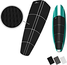 OWN THE WAVE SUP Traction Pad - 12 Piece Diamond Tread Paddle Board Deck Grip with 3M Adhesives (Black, Grey, or White)
