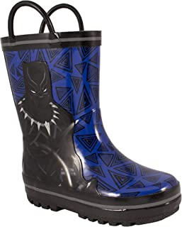 Favorite Characters Baby Boy's AVF504 Black Panther¿ Rain Boot (Toddler/Little Kid)