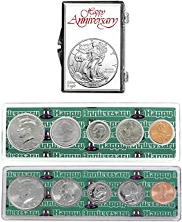 1995-2020 - 25th Anniversary Coin Gift Package American Silver Eagle Uncirculated