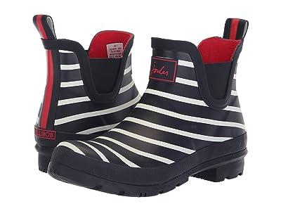 Joules Wellibob Chelsea Boot (French Navy Stripe) Women