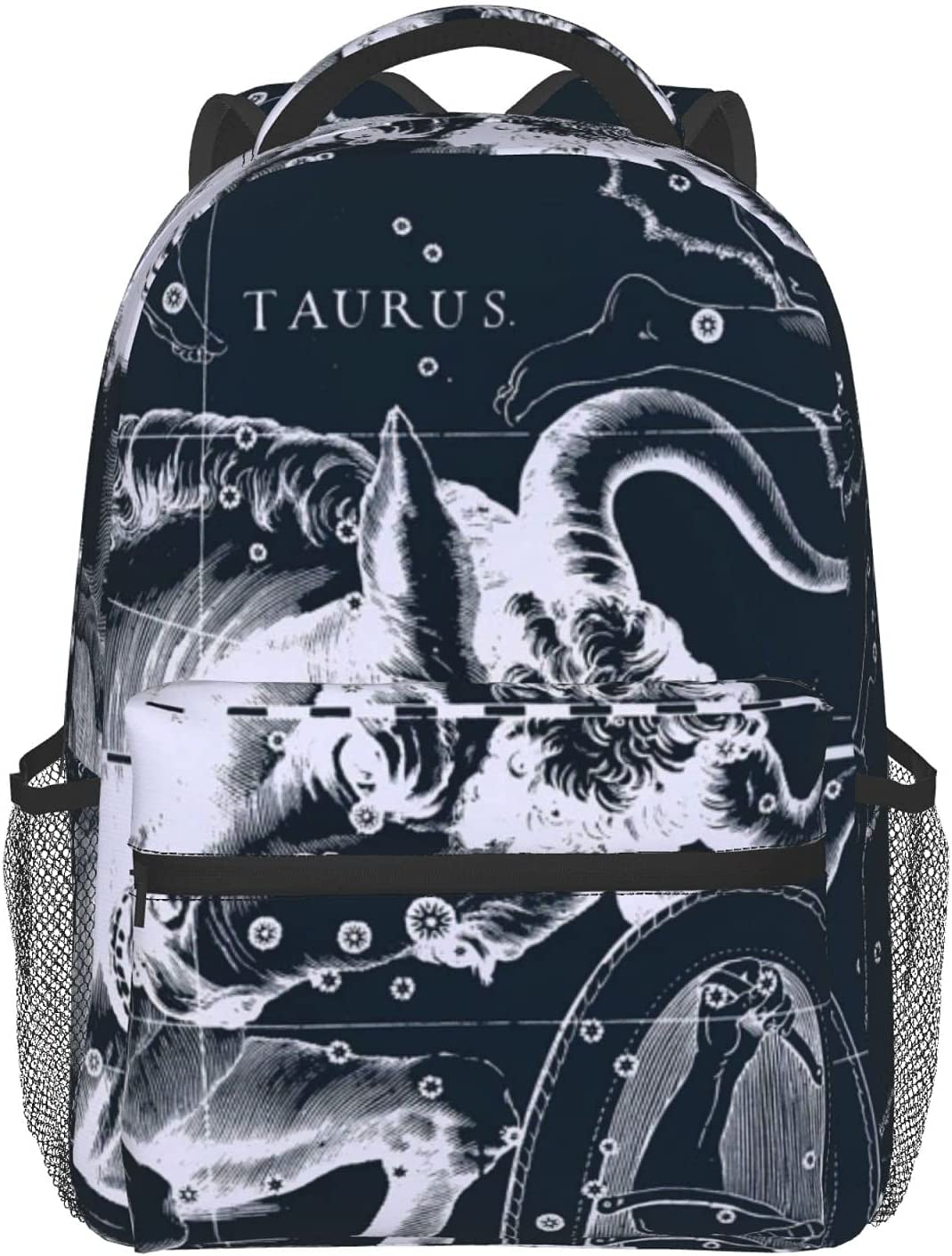 Taurus Constellation Full Print Durabl Schoolbag store polyester 100% Oklahoma City Mall