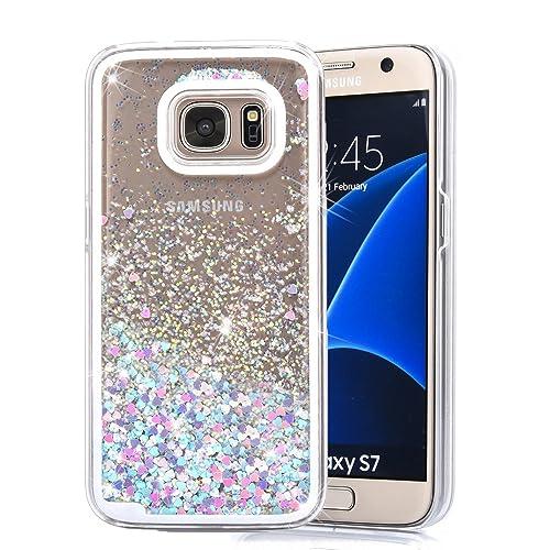 galaxy s7 glitter cases