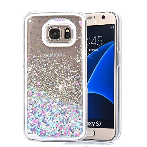 best service b863d c9cd2 Samsung Galaxy S7 Case Glitter: Amazon.com
