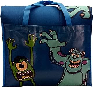 Disney/Pixar Monsters University 4-Piece Reversible Twin Bedding Set: Comforter, Fitted/Flat Sheets, Pillowcase and Bonus Tote