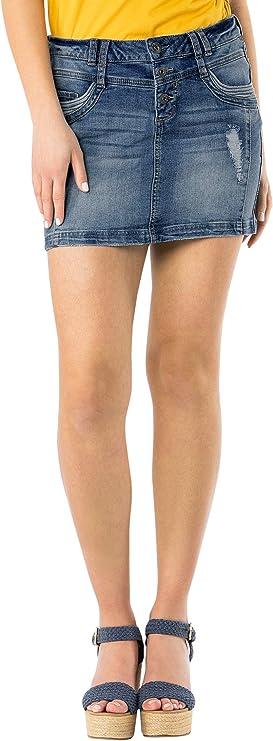 Damen Jeans Mini-Rock