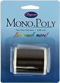 Mono Poly Superior Invisible Quilting Thread - Smoke