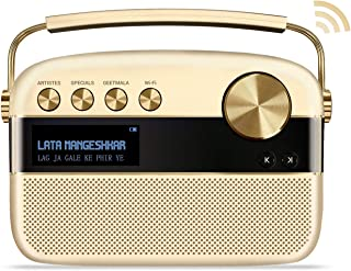 Saregama Carvaan 2.0 Portable Digital Music Player - Sound by Harman/Kardon (with 20,000 Songs) (with WiFi, Champagne Gold Color)