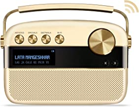 Saregama Carvaan 2.0 Portable Digital Music Player - Sound by Harman/Kardon (with 20,000 Songs) (with WiFi, Champagne Gold...