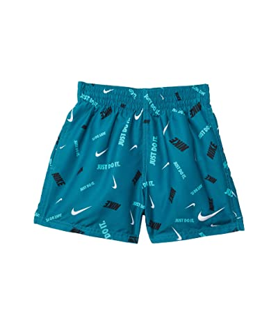 Nike Kids 4 Logofetti Volley Shorts (Little Kids/Big Kids)