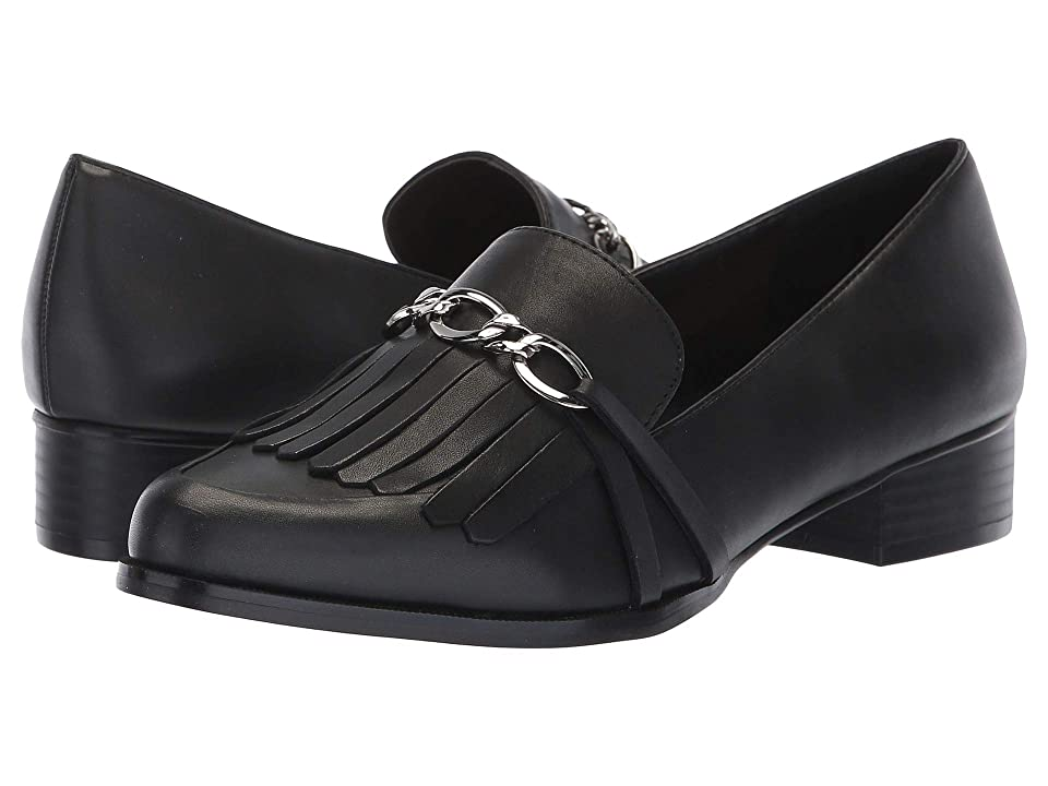 Tahari Langley (Black Calf Synthetic/Calf) Women