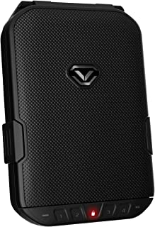 VAULTEK LifePod Secure Waterproof Travel Case Rugged Electronic Lock Box Travel Organizer Portable Handgun Case with Backl...