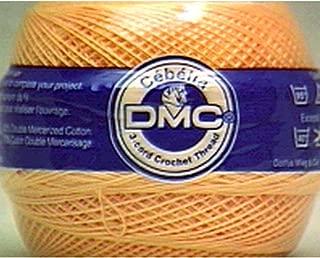 DMC 167GA 20-745 Cebelia Crochet Cotton, 405-Yard, Size 20, Banana Yellow