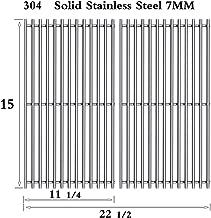 Htanch SG523 (2-Pack) Stainless Steel Cooking Grid/Grates for Genesis Silver A,Spirit 500 Gas Grills,Spirit E/S 200 & 210 (2009-2012),Spirit E-210 (2008 & Older) (15
