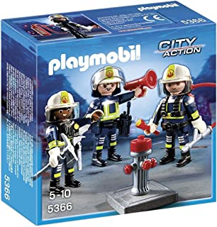 Playmobil City Action Fire Rescue Crew Playsets - 5 Years & Above