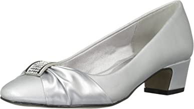 Amazon.com: Wide Width Silver Shoes