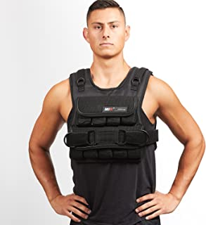 Mir Short Weighted Vest Speed Release Option (Standard, 50lbs)