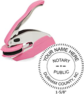 Breast Cancer Awareness Trodat Ideal Notary Seal Embosser | North Carolina